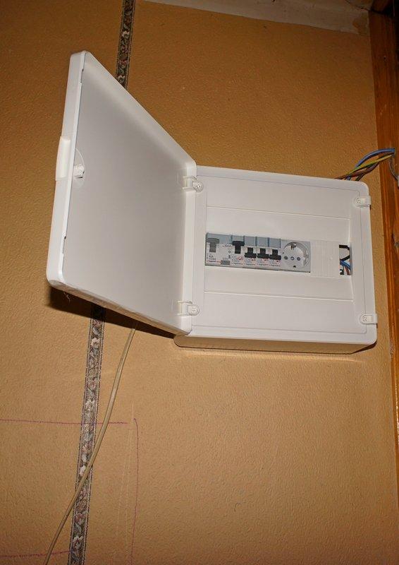 Электрощит внутри квартиры