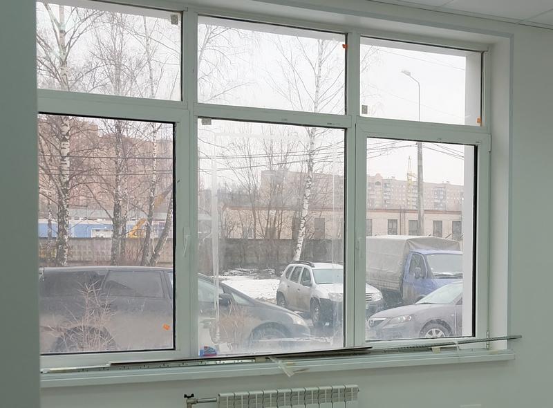 Ремонт окна нежилого помещения