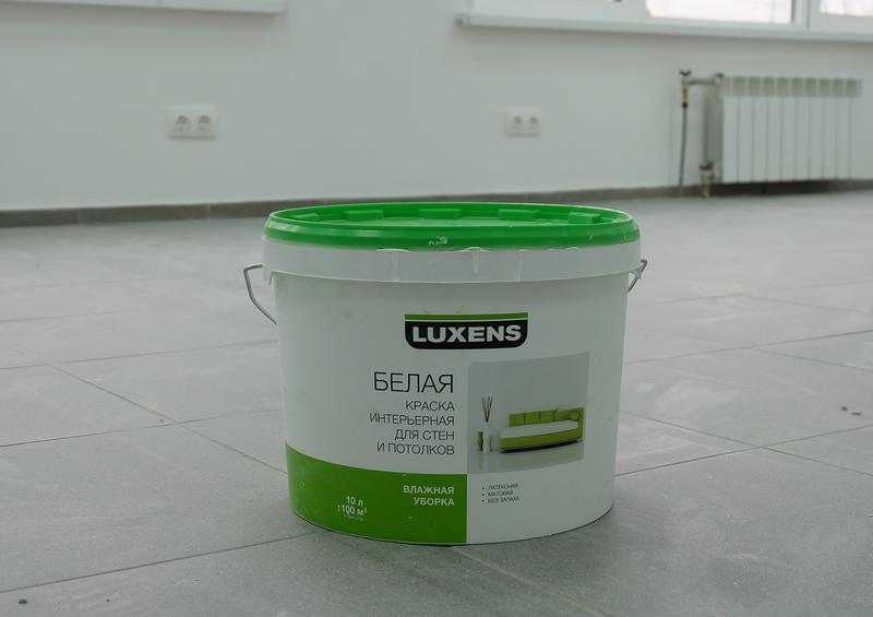 Краска для ремонта нежилого помещения