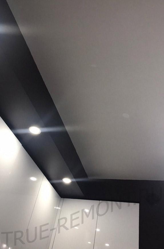 Вентиляционный короб с подсветкой