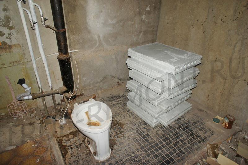 Ванная на Южном в стиле нуар