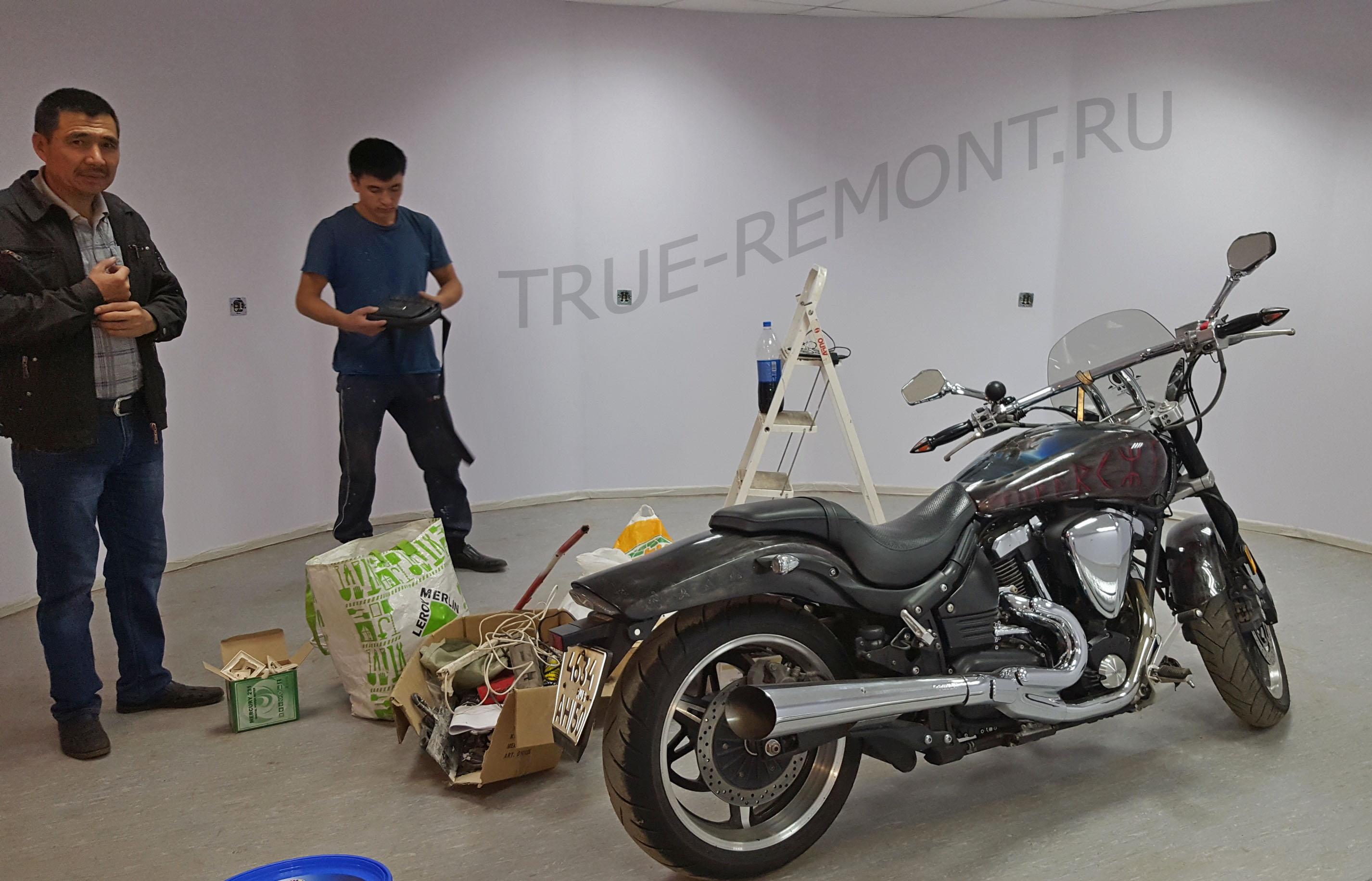 Ремонт гаража в Красногорске