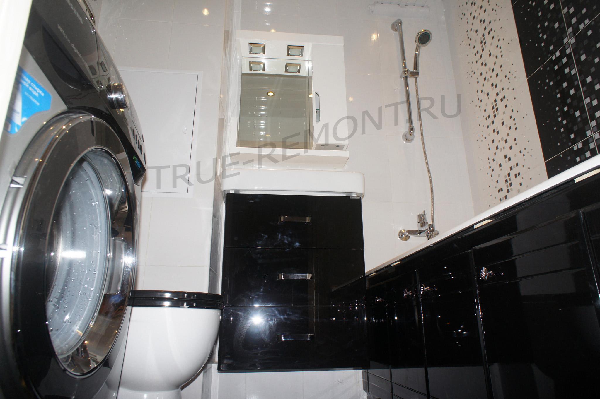 Дизайнерский ремонт ванной в Красногорске