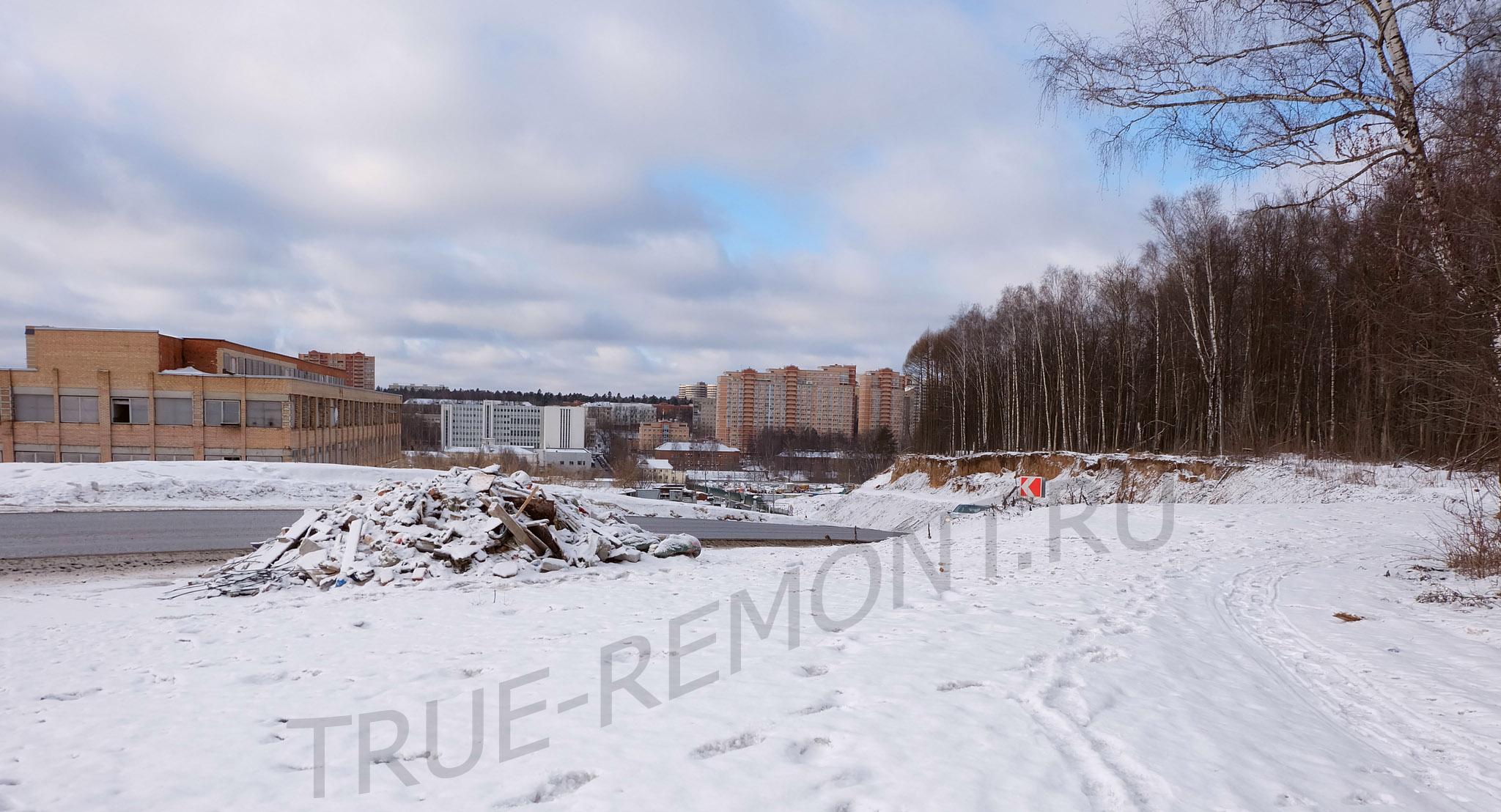 Вид на Красногорск через мусорную кучу