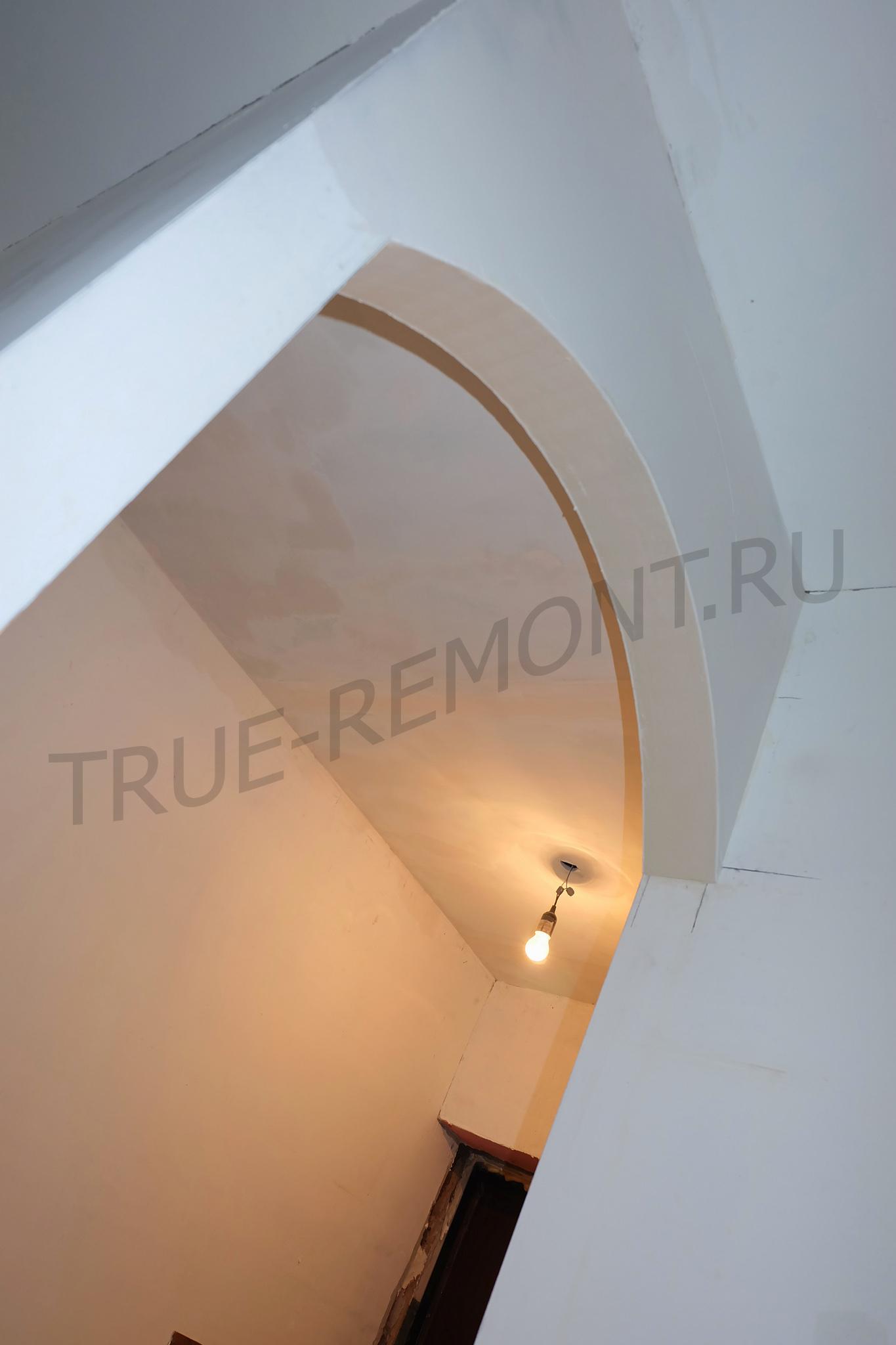 Ремонт коридора в хрущёвке