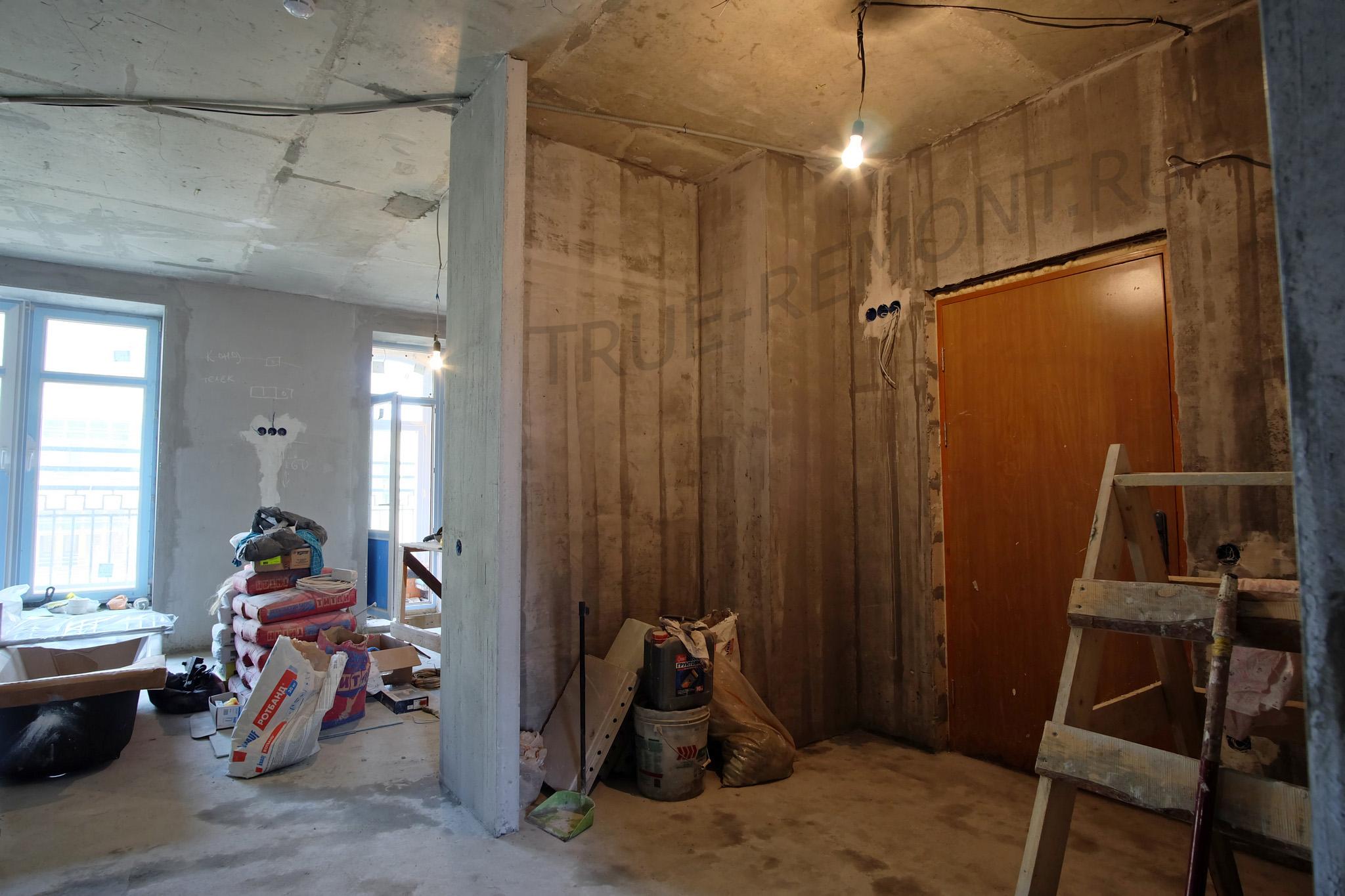 Черновой этап ремонта квартиры в Опалихе О3