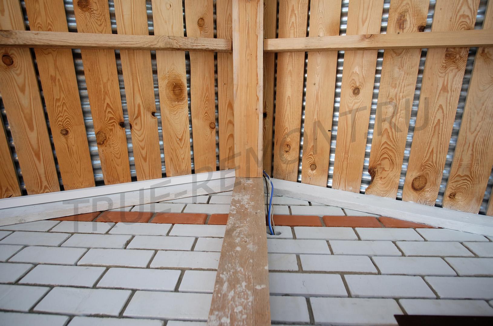 Ввод проводов в дом для электромеханического замка
