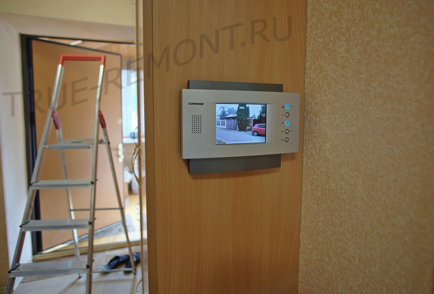 Установка видеодомофона в частном доме