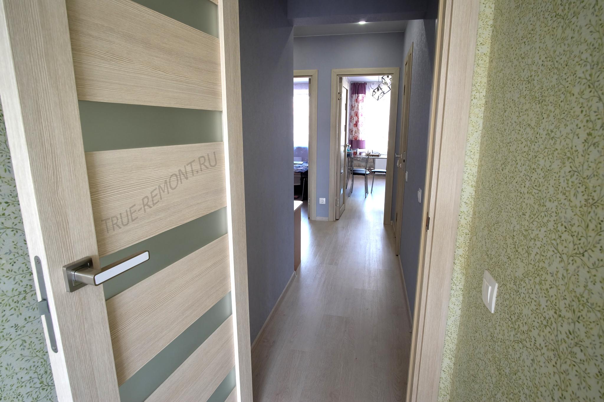 Двери и ламинат Artens для ремонта квартиры в новостройке