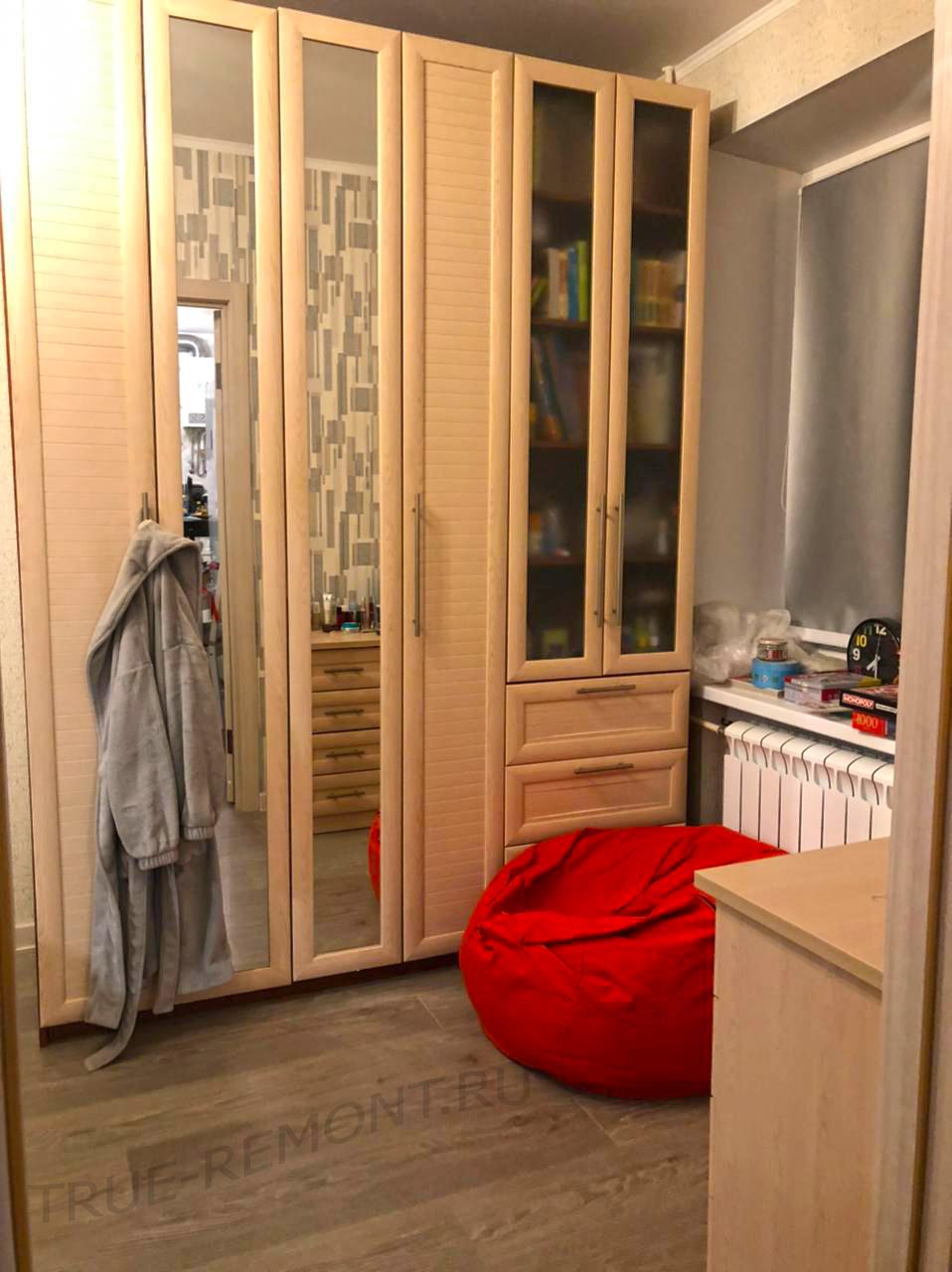 Квартира-студия из типовой хрущёвки