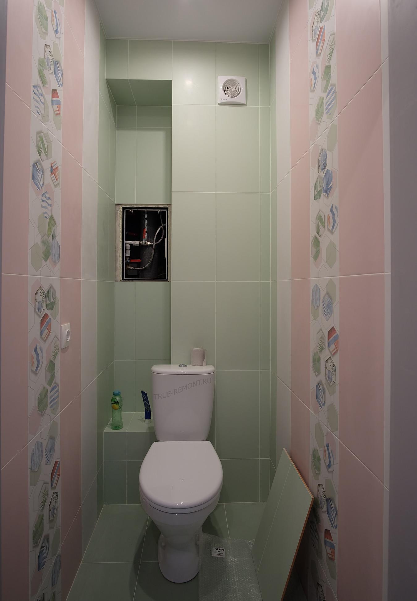 Туалет в ЖК Тетрис