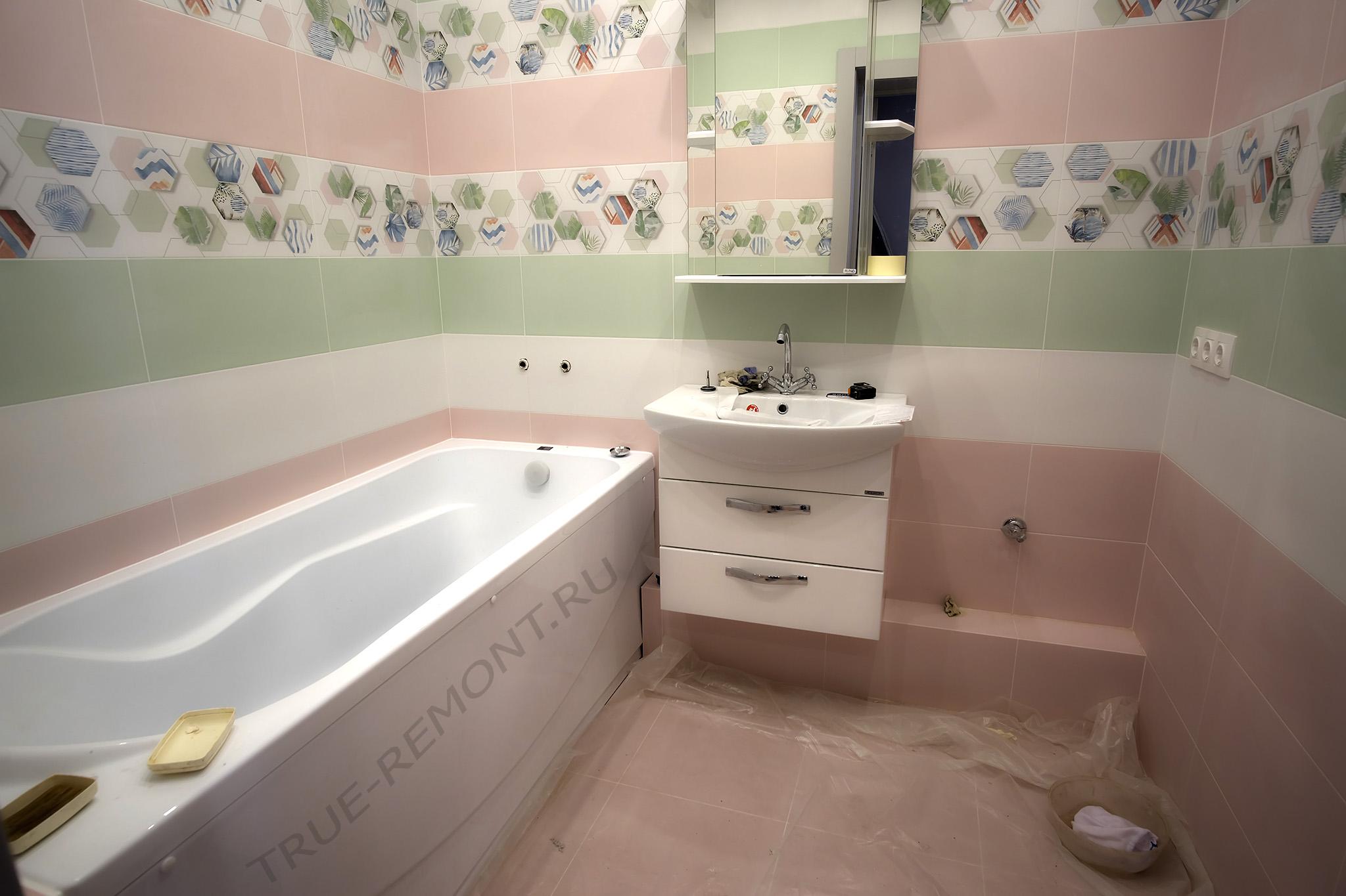 Ванная в ЖК Тетрис